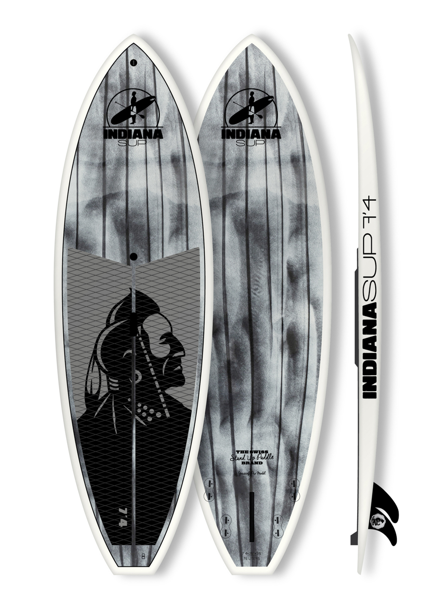 Indiana Carbon 7'4 Wave 2016